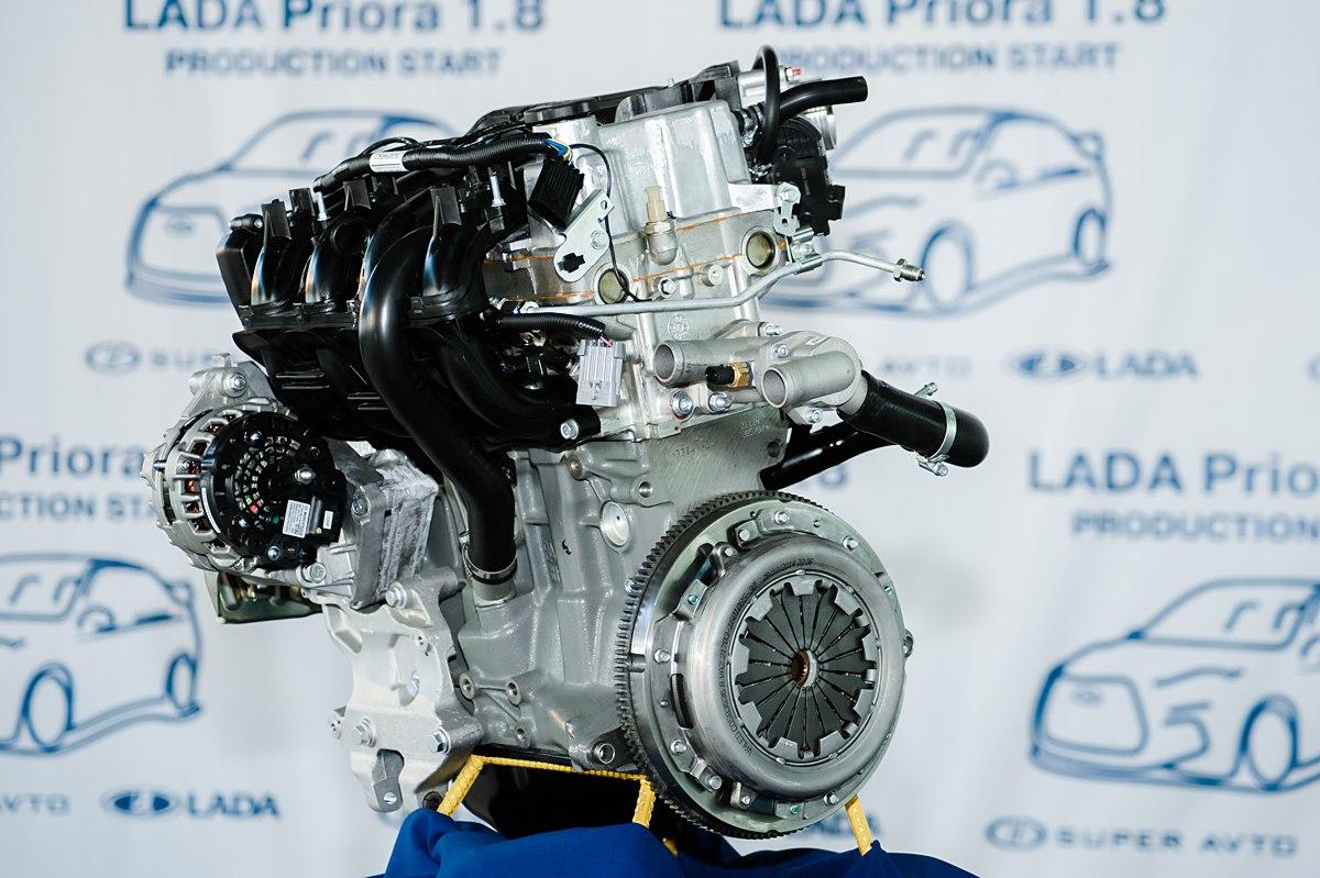 Двигатель объемом 1,8л 123л.с.