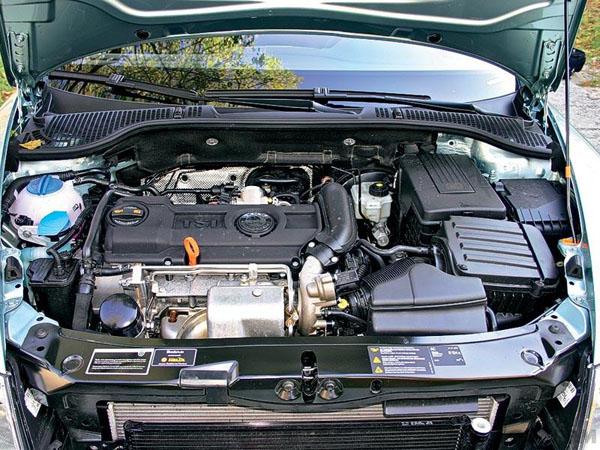 skoda octavia двигатель 1.4tsi отзывы
