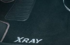 Коврики в салон и багажник на Lada Xray