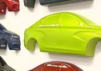 Новый цвет для моделей Лада от АвтоВАЗа