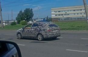 Новые снимки тестов универсала Лада Веста в Тольятти