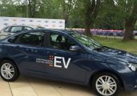 Общественность увидела прототип электрической Лада Веста