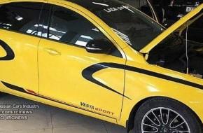 Мотор Лады Весты Спорт Михаила Рябова засветился на фото