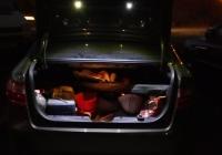 Подсветка зоны погрузки багажника Лада Веста своими руками