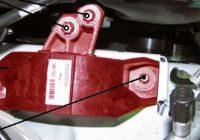 Самостоятельная замена опор двигателя Лада Веста и Икс Рей
