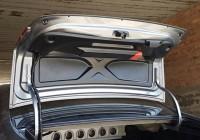 Накладка ИКАР на крышку багажника Весты