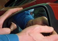 Как самостоятельно снять и разобрать боковые зеркала на Лада Веста и Икс Рей