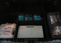 Самодельный органайзер в багажник Лада Икс Рей