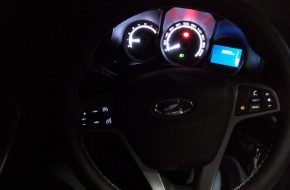Установка подсветки кнопок магнитолы на руле Лада Икс Рей своими руками