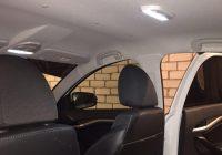 Самостоятельная установка плафона освещения второго ряда сидений Лада Веста