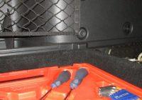 Самодельный органайзер в багажник Лада Веста СВ Кросс – как сделать?